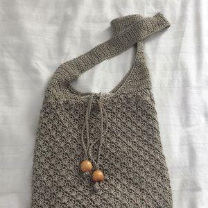 Handbags - Drawstring shoulder bag